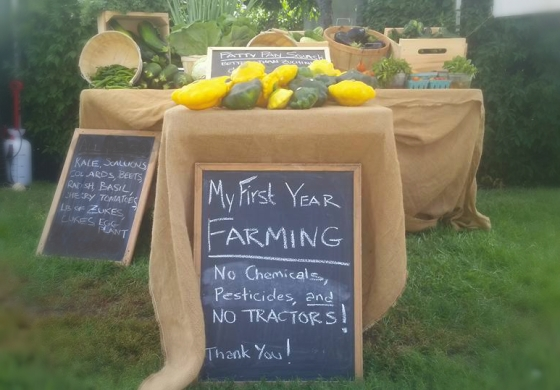 MGF representing at the third week of the Revere Farmer's Market