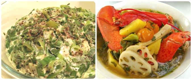 Sarath's food collage