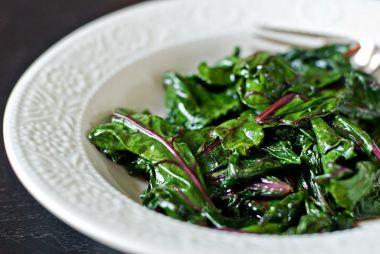 sauteed beet greens