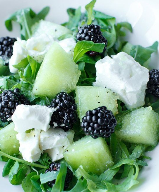 melon berry salad