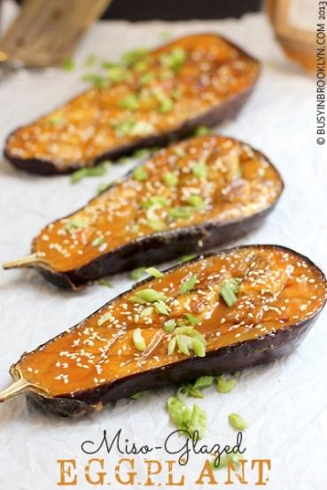 eggplant-with-miso-glaze