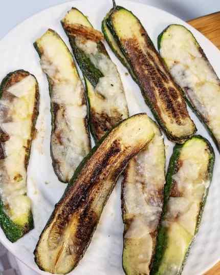CSA cheesy zucchini