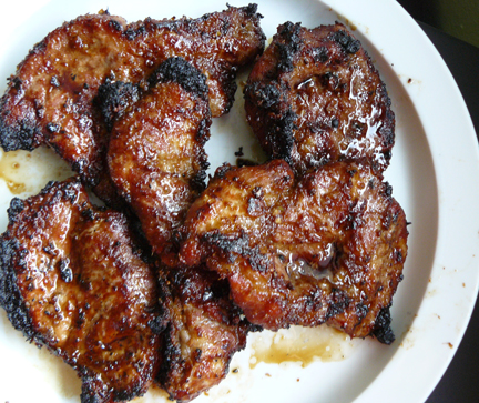 Andrea Nguyen lemongrass pork