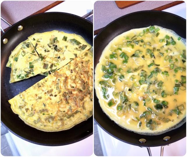 bittermelon omelette