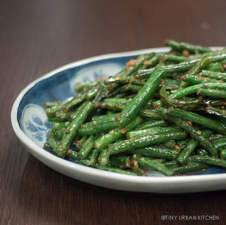 garlic yardlong beans stir fry