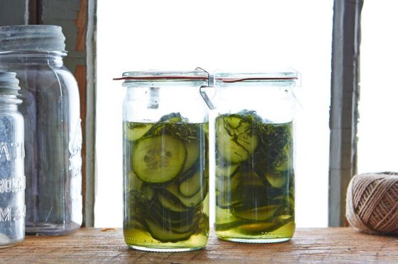 shiso cuke pickles