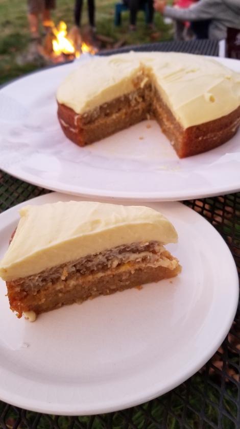 Kohei's Golden Beet dairy free cake